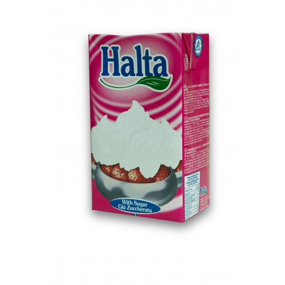 Халта крем со шеќер 1л