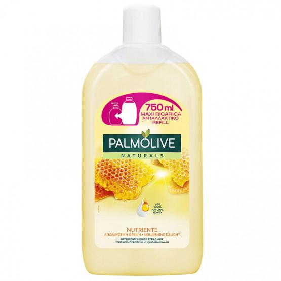 Палмолајв Течен сапун Мед и млеко рефил 750мл