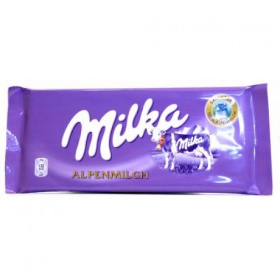 Чоколадо Милка алпско млеко 80г