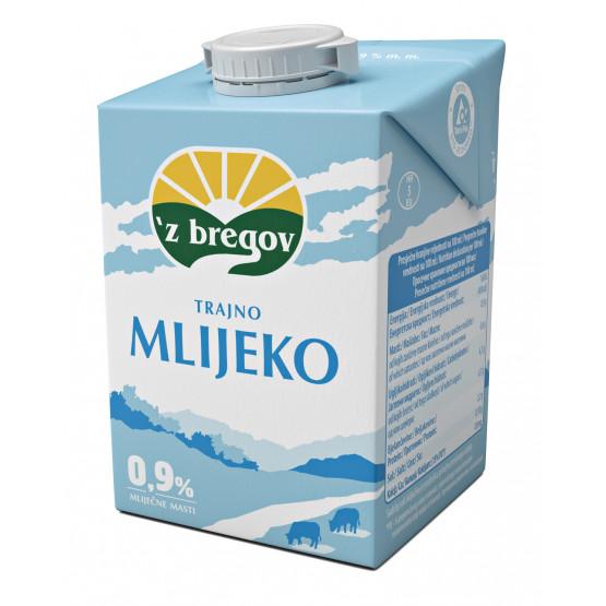 Млеко 0.9% лајт 500мл Збрегов