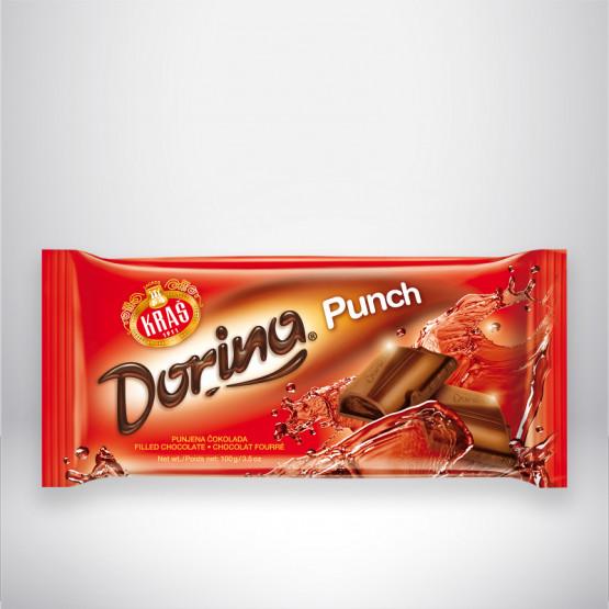Чоколада Дорина пунч 100г Краш