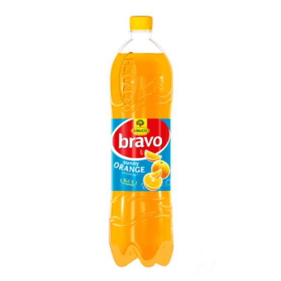 Сок Браво портокал 1.5л