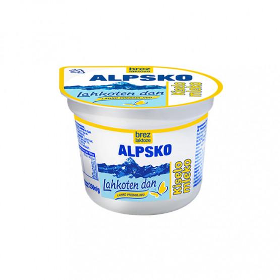 Алпско Кисело Млеко без Лактоза 250г