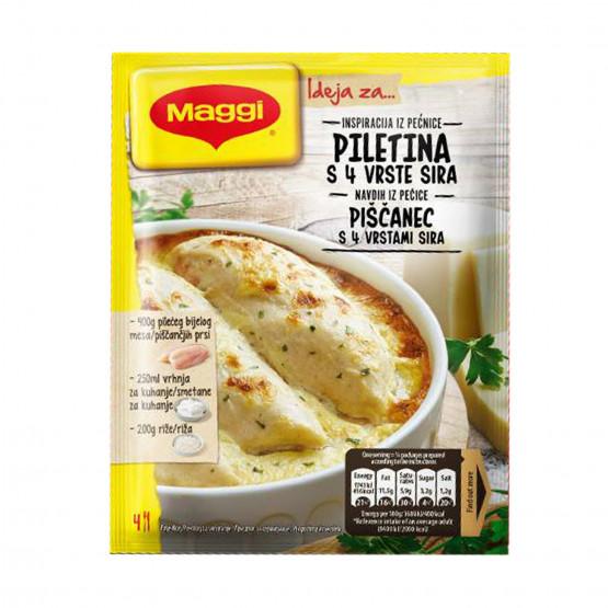 Маги сос за пилешко со 4-ри сирења 32г