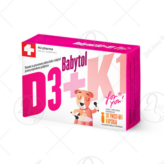 Babytol D3+K1