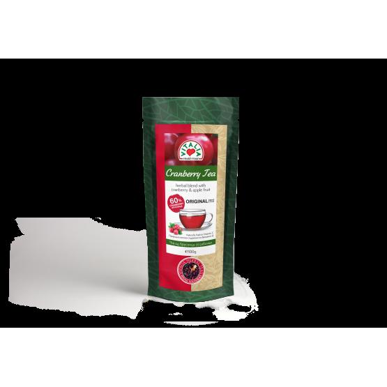Чај Виталиа брусница со јаболка 100г