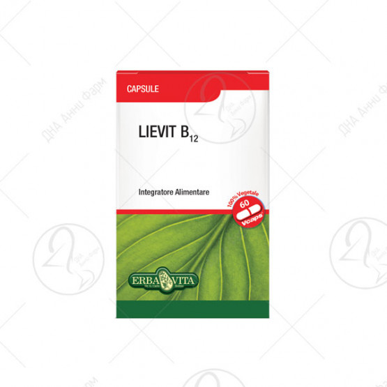 ЛИЕВИТ Б12 капсули 60x510mg