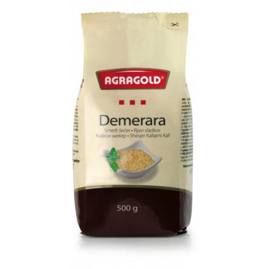 Аграголд кафен шеќер Демерара 500г