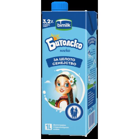 Битолско млеко 3.2% 1л