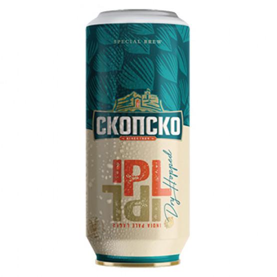 Скопско пиво ИПЛ лименка 500мл