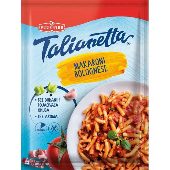 Подравка Талианета макарони болоњезе 160г