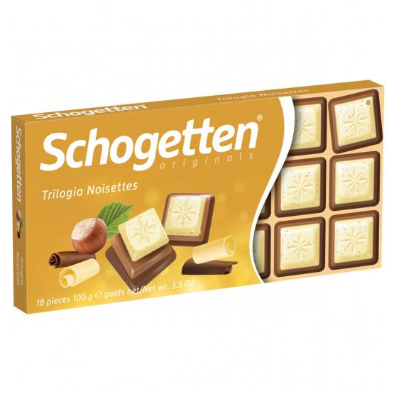 Шогетен Чоколадо Трилогиа Ноисет 100г