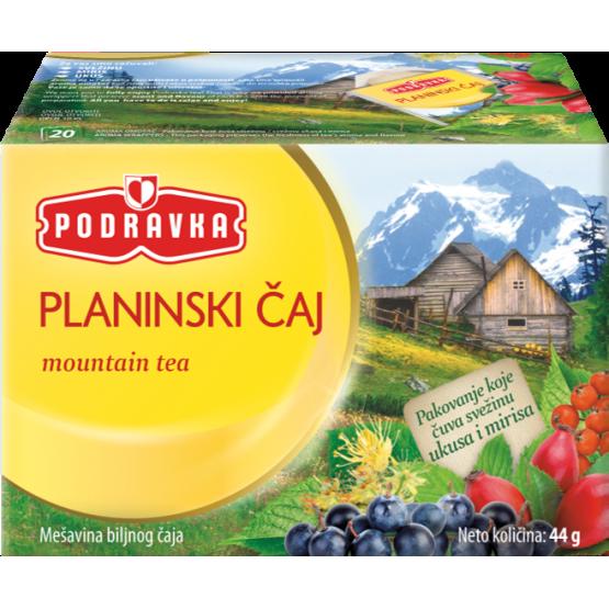 Чај Подравка планински 44г
