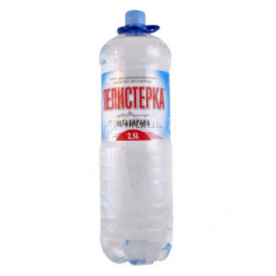 Пелистерка вода негазирана 2.5л