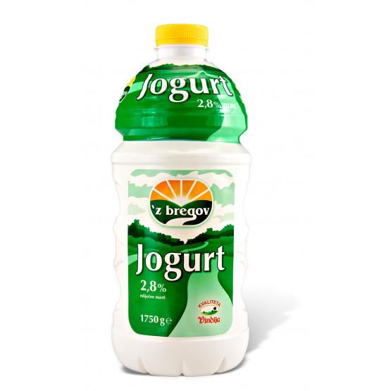 Јогурт 2.8% шише 1.75л Збрегов