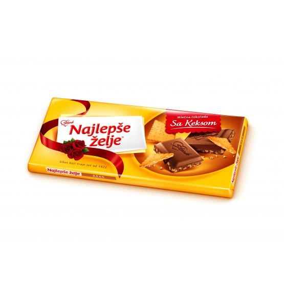 Најлепше жеље чоколадо бисквитт 85г