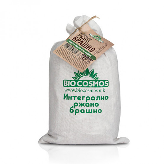 Интегрално Ржано Брашно 900г Биокосмос