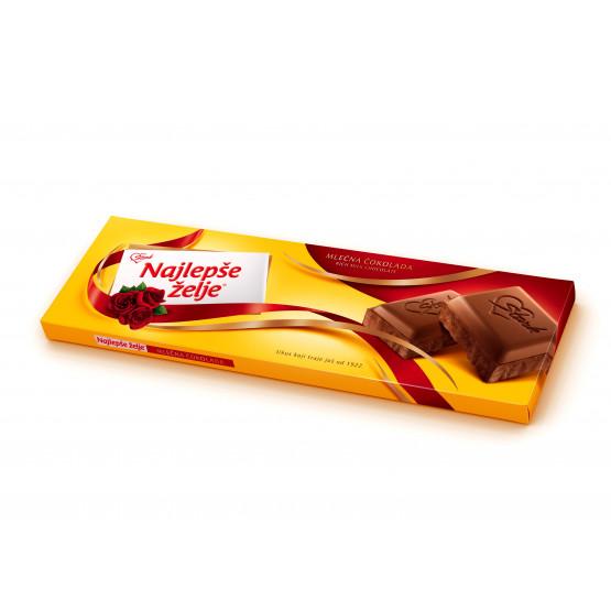 Чоколадо Најлепше жеље млечно 250г