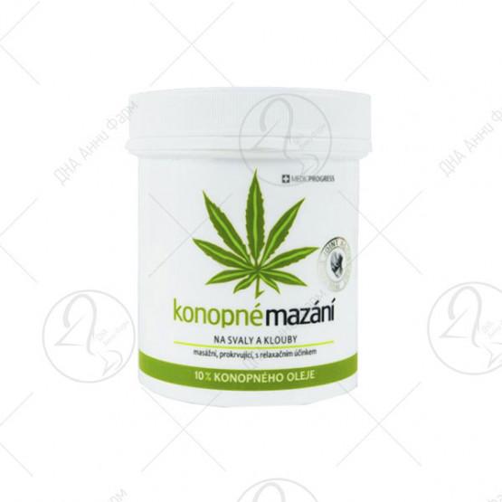 Зелена крема од коноп за релаксација 250 ml