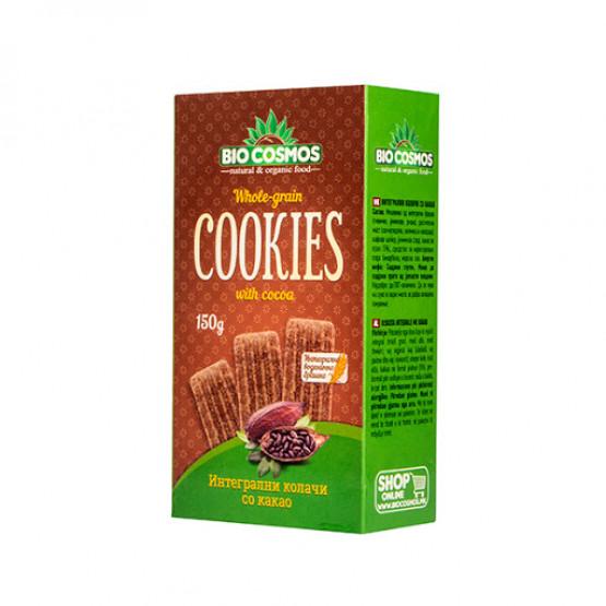 Кукис Интегрални колачи со Какао 150г Биокосмос