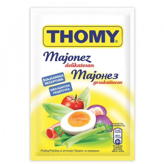 Мајонез Томи кеса 80г