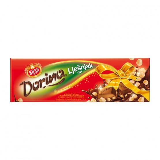 Чоколадо Дорина со Лешници цели 220г Краш