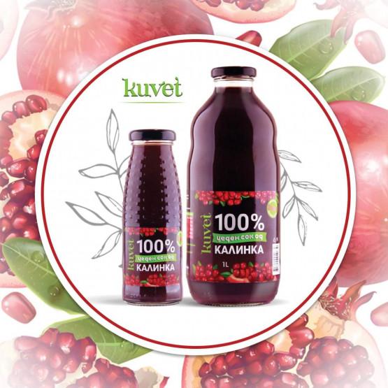Калинка 200мл цеден сок 100%