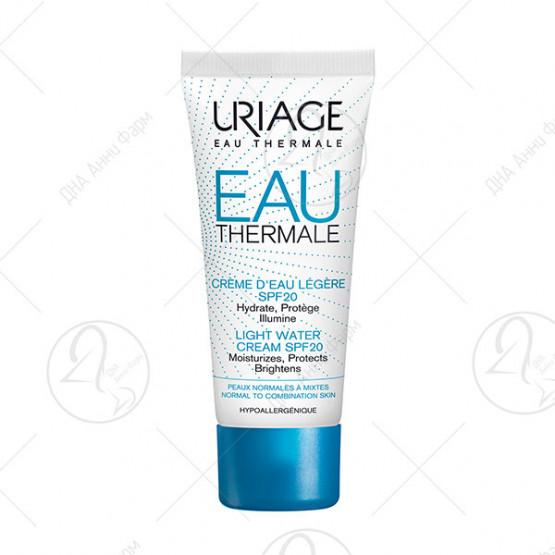 URIAGE ЕAU Богата хидрофилна крема за лице SPF 20