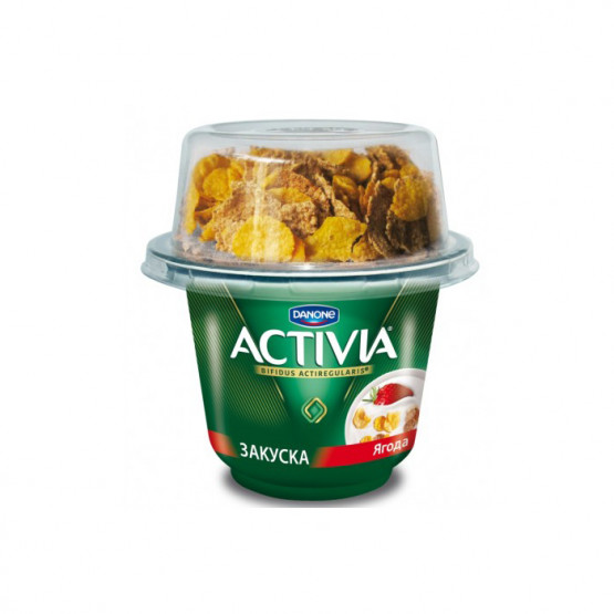 Активиа оброк со јагода 198г