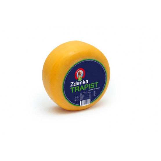 Зденка Трапист   Полутврдо Полномасно сирење со кора  400г