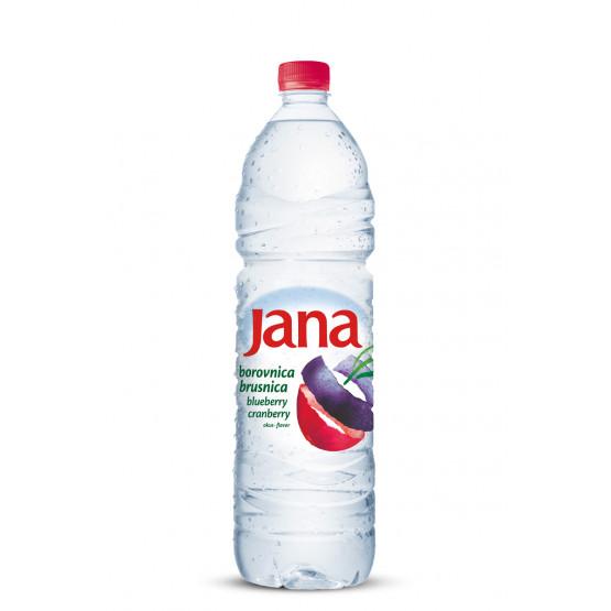 Јана Ароматизирана вода со вкус на боровница брусница 1.5л