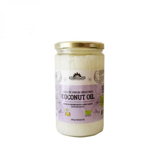 Органско Кокосово Масло 600г Биокосмос