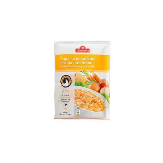 Витаминка супа пилешка со тестенини 50г