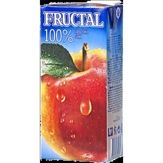 Фруктал сок јаболко 100% 200мл