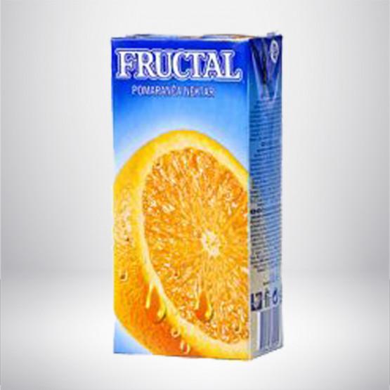 Фруктал сок портокал 100%  1л