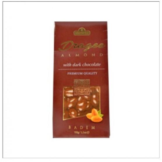 Витаминка чоколадно драже со јадро од бадем 100г