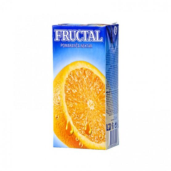 Фруктал сок портокал 50% 1л
