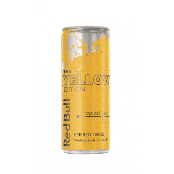 Ред Бул Енергетски Пијалок Жолта Едиција 250мл