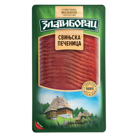 Златиборац Свинска печеница деликатес слајс 80г
