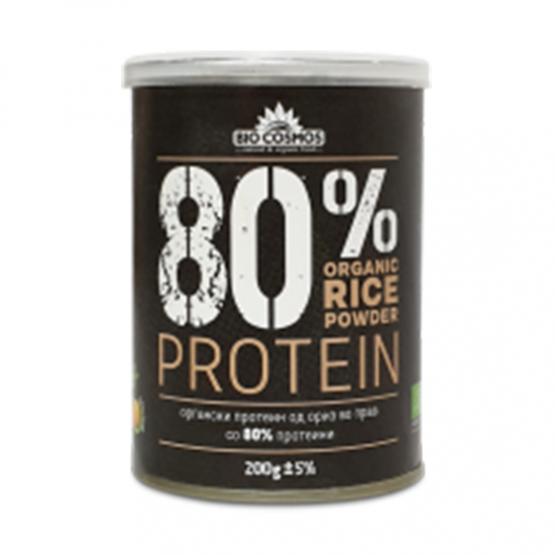 Протеин од Ориз Органски 80% Биокосмос