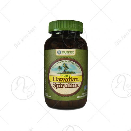 Hawaiian Spirulina 500 mg / 400 таблети