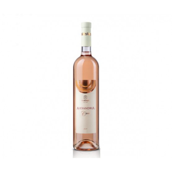 Вино Александрија Куве розе 750мл Тиквеш