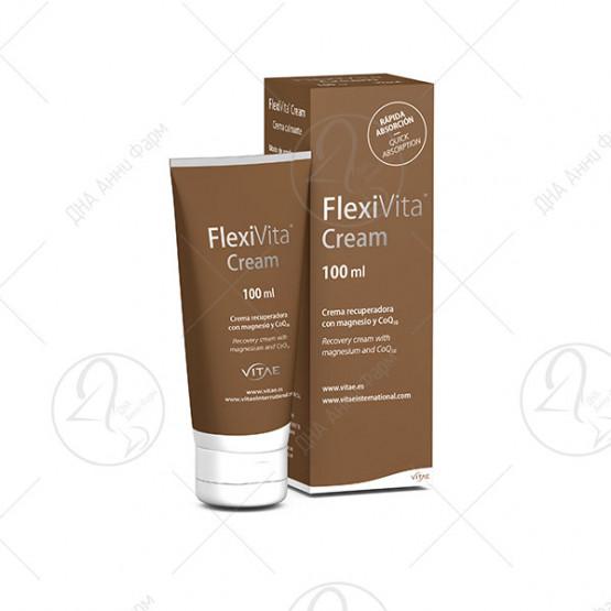 FlexiVita Cream 100ml - Крема за ублажување на болки во мускули и зглобови