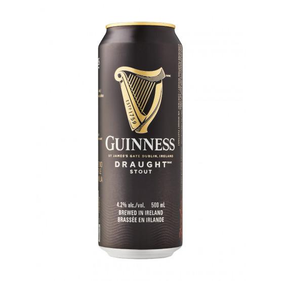Пиво Гинис Темно лименка 500мл