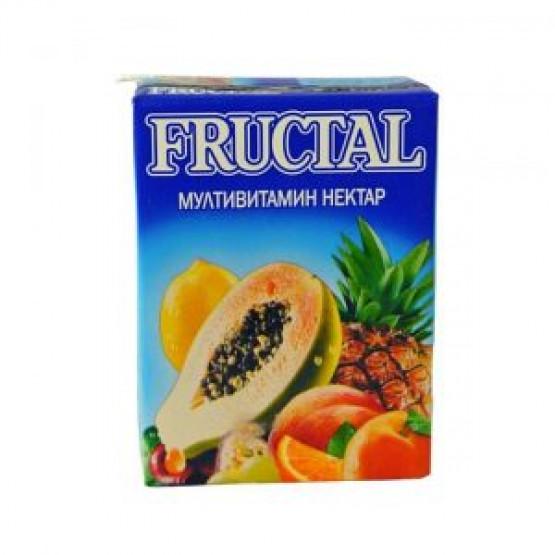 Сок фруктал мултивитамин 200мл