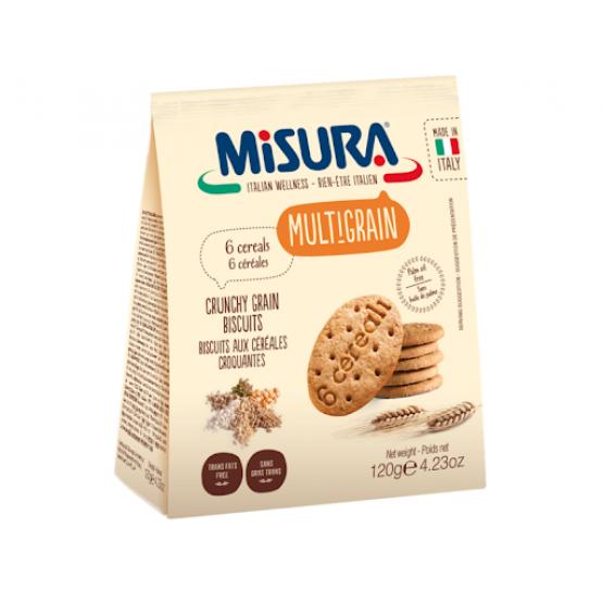 Мисура Бисквити со 6 житарици 120г