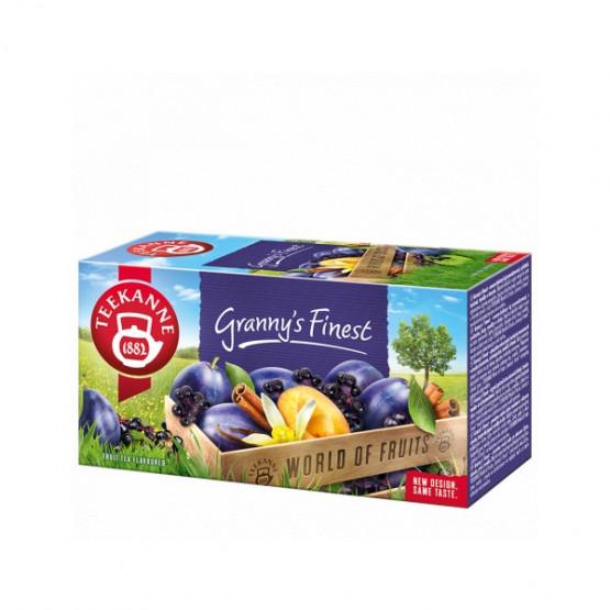 Чај од овошје слива цимет Грени Финест 50г