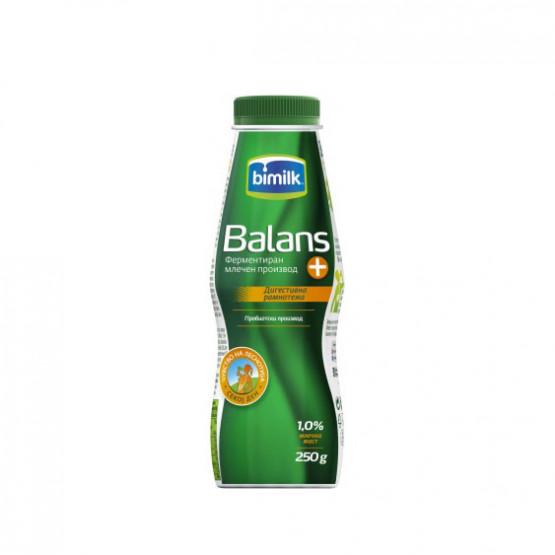 Битолски Баланс јогурт 1.0% шише 250мл