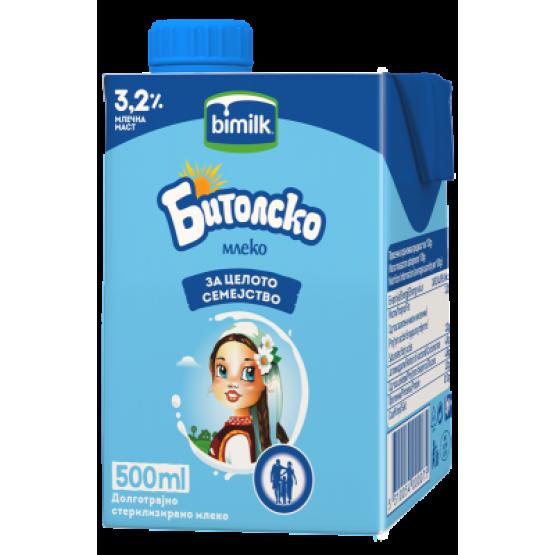 Битолско млеко 3.2% 500мл