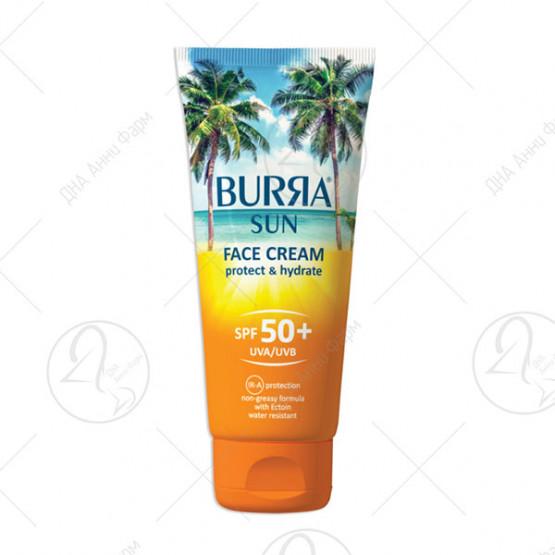 BURRA SUN FACE CREAM SPF 50+, 100ML